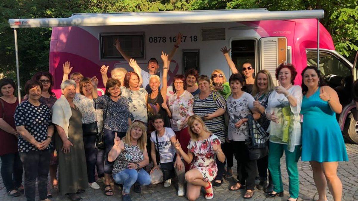 Розовият кемпер на Една от 8 посети Гоце Делчев и град Разлог